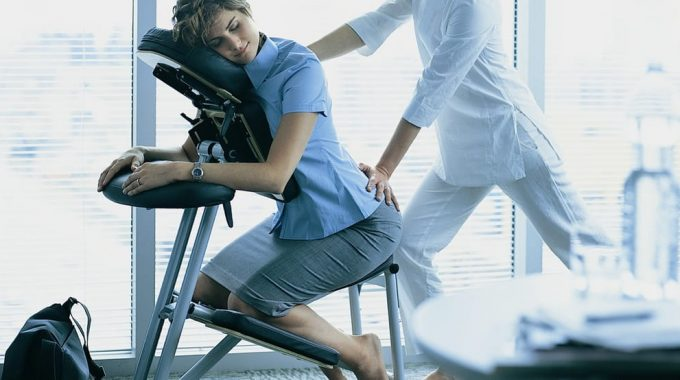 Chair Massage At Work: What To Expect