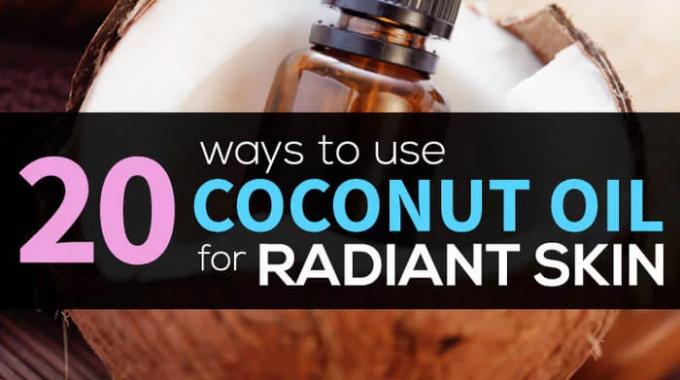 Coconut Oil For Skin: 20 Secret Uses